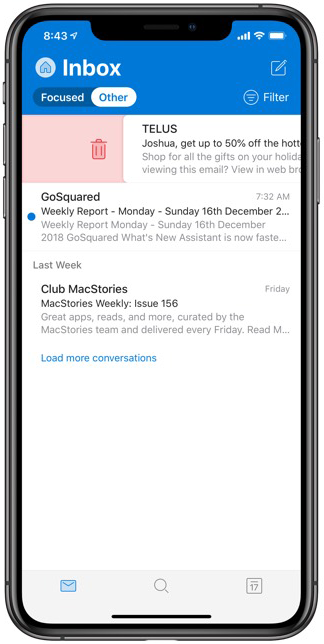Outlook Email On Iphone